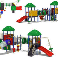 large jungle gyms