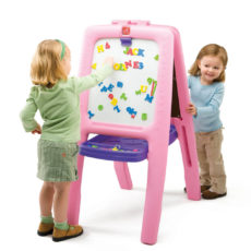 Easel for 2 - Pink