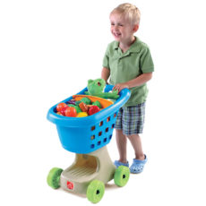 Little Helpers Shopping Cart - Blue