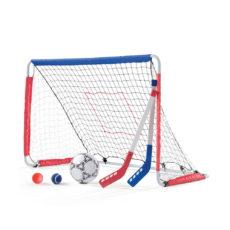Soccer Goal & Hockey Pitch-back