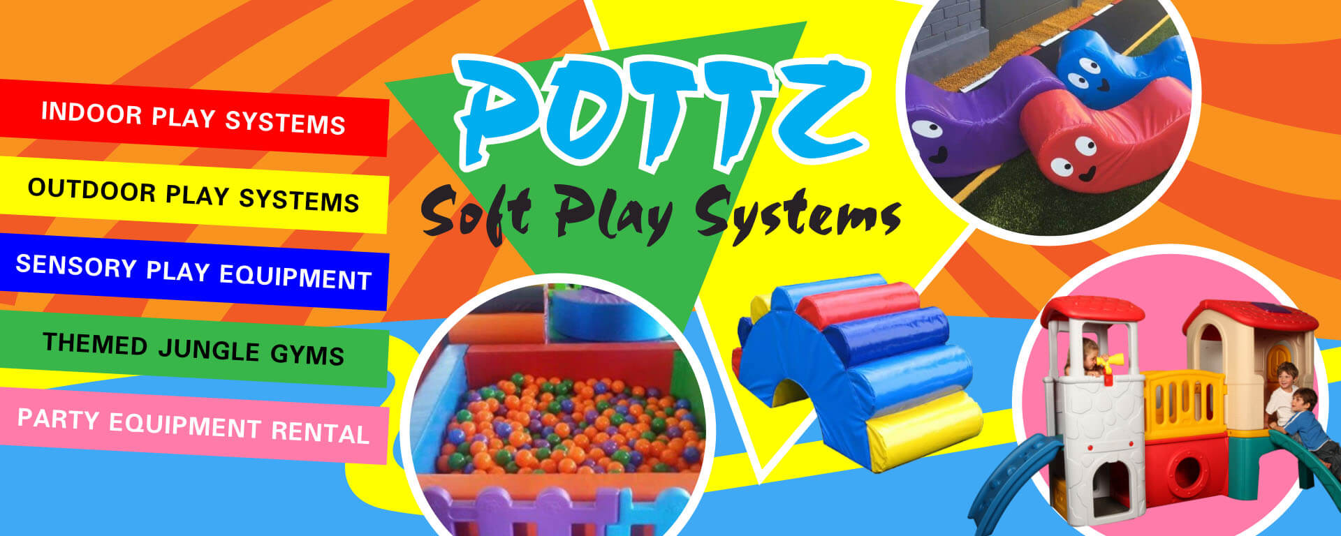 Pottz Soft Play Systems
